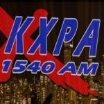 Logo da emissora KXPA 1540 AM