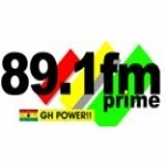 Logo da emissora Radio Prime 89.1 FM