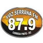 Logo da emissora R�dio Voz Serrana 87.9 FM