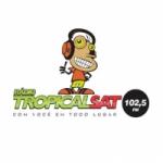 Logo da emissora Rádio Tropical Sat 102.5 FM