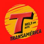 Logo da emissora Rádio Transamérica Hits 103.1 FM