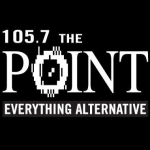 Logo da emissora Radio KPNT The Point 105.7 FM