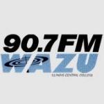 Logo da emissora WAZU 90.7 FM