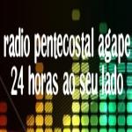Logo da emissora Rádio Pentecostal Ágape