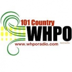 Logo da emissora Radio WHPO 101 Country 100.9 FM