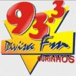 Logo da emissora R�dio Divisa 93.3 FM