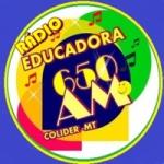 Logo da emissora Rádio Educadora 650 AM