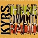 Logo da emissora KYRS 89.9 FM