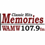 Logo da emissora Radio WAMW 107.9 FM