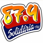 Logo da emissora Radio Comunitária Solidária 87.9 FM