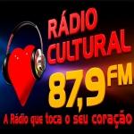 Logo da emissora Rádio Cultural 87.9 FM