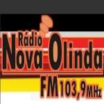 Logo da emissora R�dio Nova Olinda 103.9 FM
