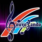 Logo da emissora Rádio Louvozando