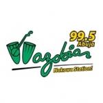 Logo da emissora Radio Wazobia 99.5 FM