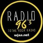 Logo da emissora Radio WJAA Total Rock 96.3 FM