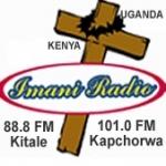 Logo da emissora Radio Imani 88.8 FM