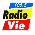 Logo da emissora Radio Vie Reunion 105.5 FM