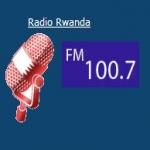 Logo da emissora Radio Ruanda 100.7 FM