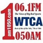 Logo da emissora Radio WTCA 106.1 FM 1050 AM