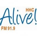 Logo da emissora Radio HHC Alive 91.9 FM