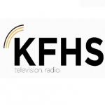 Logo da emissora Radio KFHS 98.3 FM