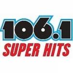 Logo da emissora Radio KIYX 106.1 Super Hits FM