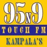 Logo da emissora Radio Touch 95.9 FM