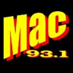 Logo da emissora KMCS 93.1 FM Vintage Sound