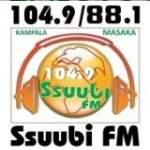 Logo da emissora Radio Ssuubi 104.9 FM