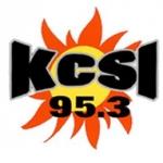 Logo da emissora KCSI 95.3 FM