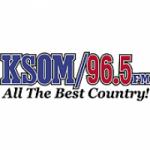 Logo da emissora Radio KSOM 96.5 FM