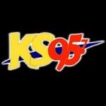 Logo da emissora Radio KSWI KS 95.7 FM