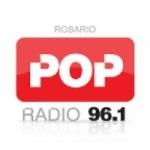 Logo da emissora Radio Pop 96.1 FM