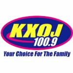 Logo da emissora Radio KXOJ 100.9 FM