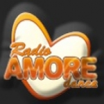 Logo da emissora Amore Dance 87.8 FM
