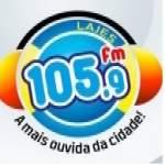 Logo da emissora Rádio Lajes 105.9 FM