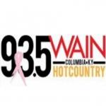 Logo da emissora Radio WAIN Hot Country 93.5 FM