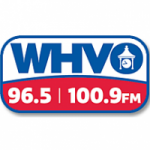 Logo da emissora Radio WHVO 96.5 FM