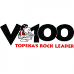 Logo da emissora Radio KDVB V100 96.9 FM
