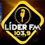 Logo da emissora Rádio Líder 103.9 FM