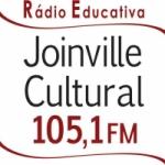 Logo da emissora Rádio Joinville Cultural 105.1 FM