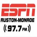 Logo da emissora Radio KNBB ESPN 97.7 FM
