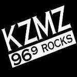 Logo da emissora Radio KZMZ 96.9 FM Rocks
