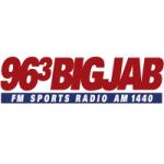 Logo da emissora Radio WJJB The Big Jab 96.3 FM