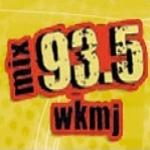 Logo da emissora WKMJ 93.5 FM The Mix