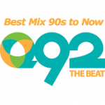Logo da emissora Radio KKGQ Q92 The Beat 92.3 FM