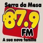 Logo da emissora R�dio Serra da Mesa 87.9 FM