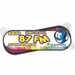 Logo da emissora Rádio Serra da Mesa 87.9 FM