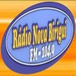 Logo da emissora R�dio Nova Birigui 104.9 FM