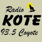 Logo da emissora KOTE 93.5 FM
